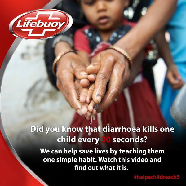 The picture has been taken from Lifebuoy Facebook page.