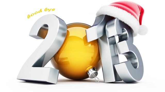 good-bye-2013-3d-wallpaper