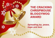 CRACKING CHRISP BLOGGYWOG AWARD