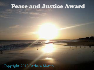 PEACE AND JUSTICE AWARD