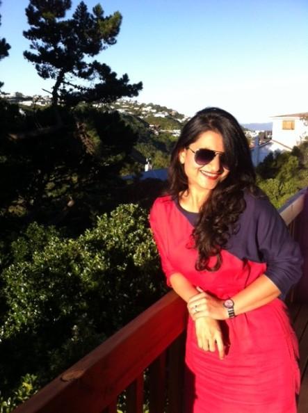 The author, Zinal Bhadra, speaks on Mumbai.