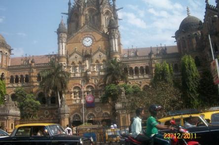 Iconic Chhatrapati Shivaji Terminus known as Victoria Terminus (vt)