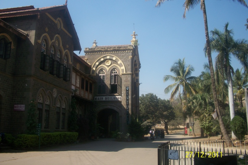 Front view of Fergusson College