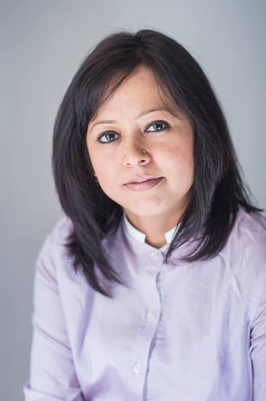 Author Rachna Gupta.