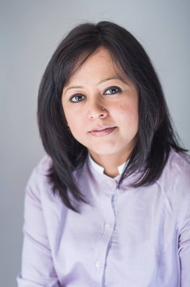 Author Rachna Gupta.