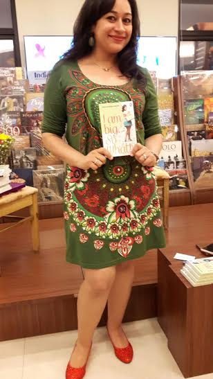 Shuchi Singh Kalra at the book launch of 'I Am Big So What?!