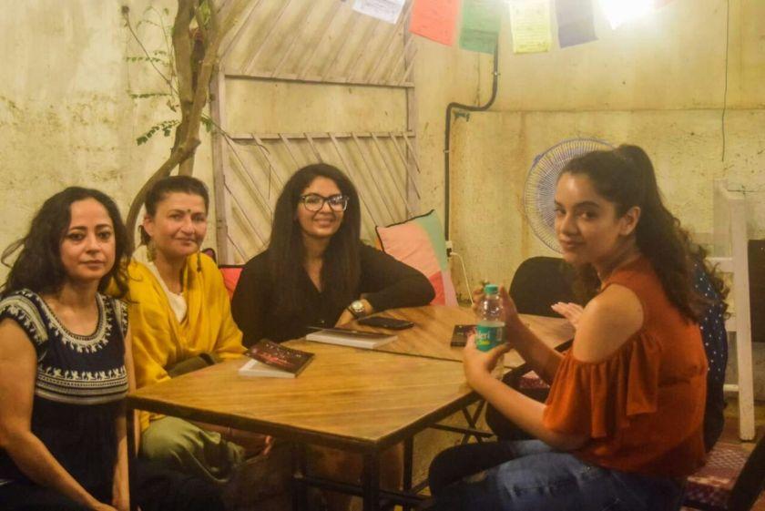 Dr Nikita Lalwani in the company of Sheeba Chaddha and Sarika