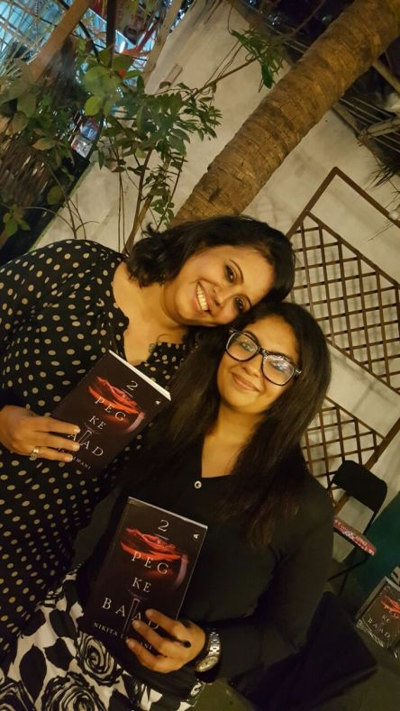 The author with renowed Physiotherapist, Maya Shahane